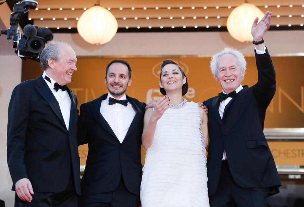 In foto Jean-Pierre Dardenne (70 anni) Dall'articolo: Cannes 67, il giorno dei premi Oscar.