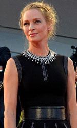 In foto Uma Thurman (48 anni) Dall'articolo: 71. Mostra del Cinema, applausi per il Giovane favoloso.