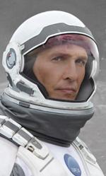 Matthew McConaughey racconta Interstellar - In foto l'attore Matthew McConaughey in una scena del film.