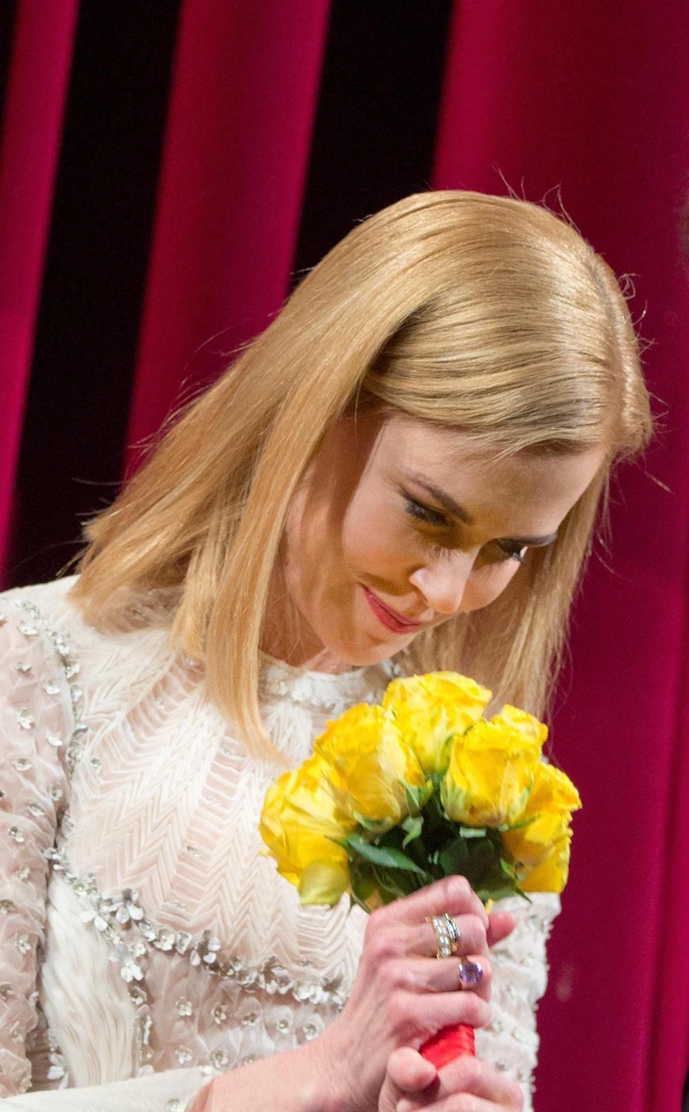 In foto Nicole Kidman (54 anni) Dall'articolo: Berlinale 2015, applausi per Nicole Kidman.