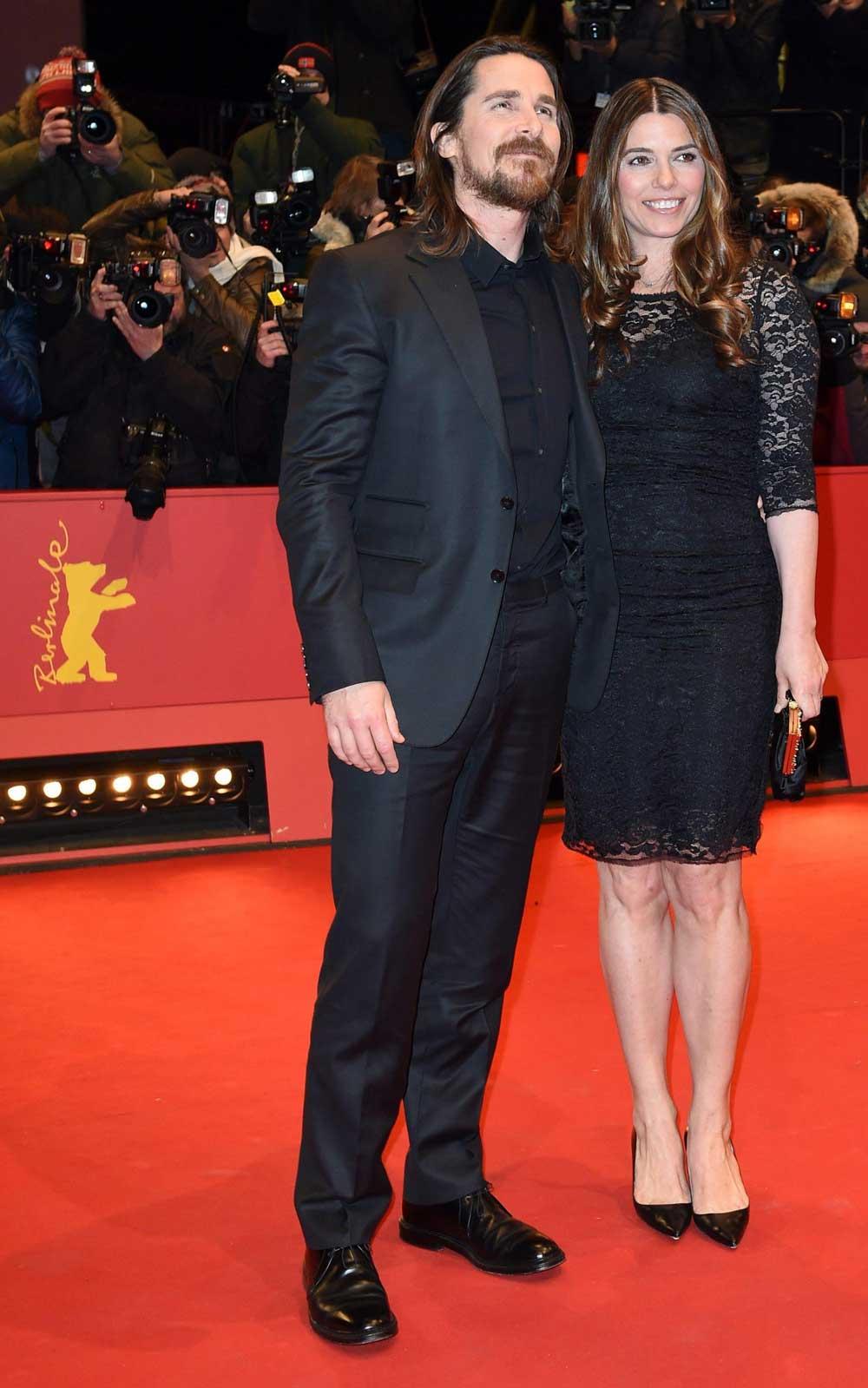 In foto Christian Bale (47 anni) Dall'articolo: Berlinale 2015, Natalie Portman e Christian Bale sul red carpet.