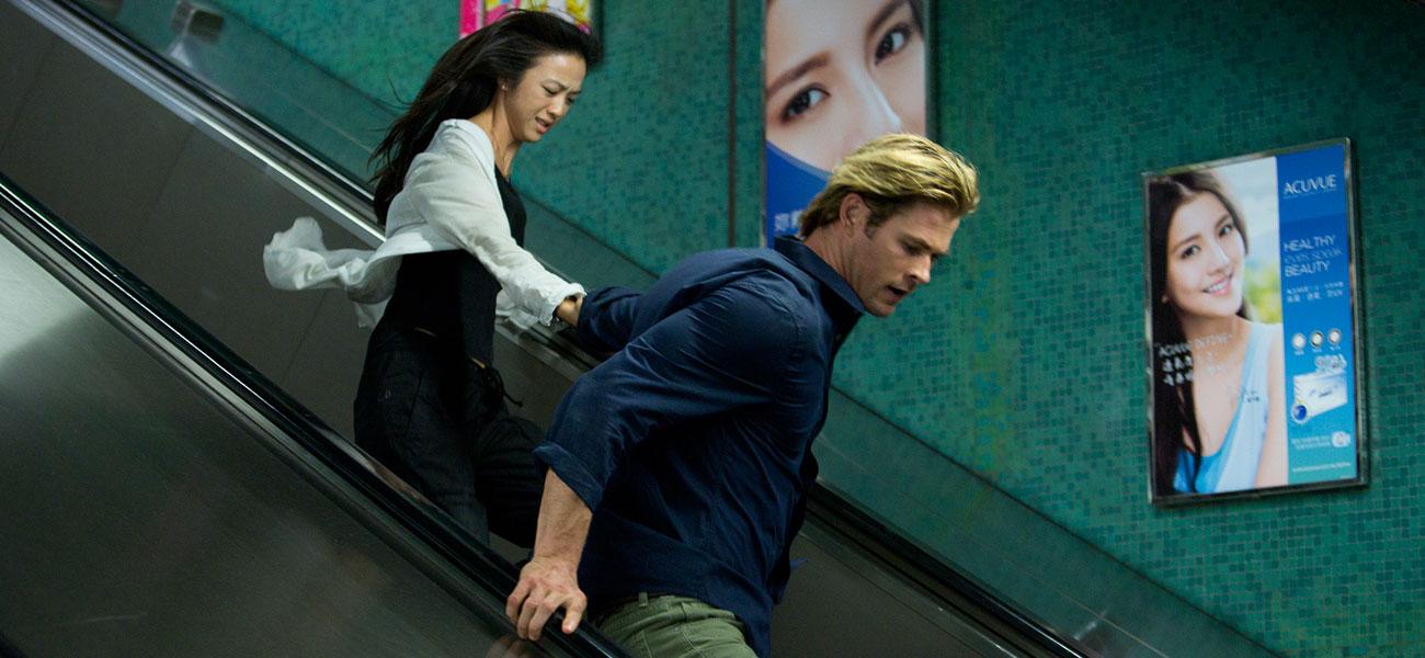 In foto Chris Hemsworth (38 anni) Dall'articolo: Cinema come digitale retrò.