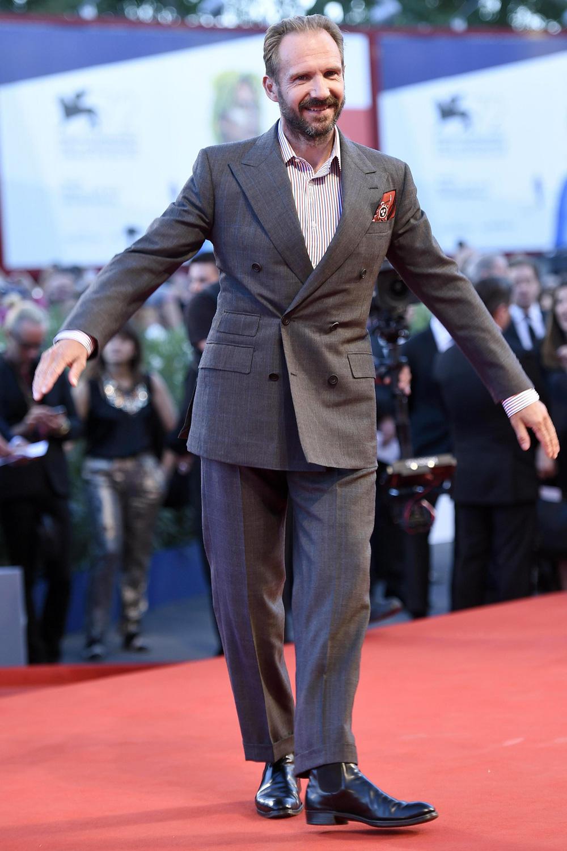 In foto Ralph Fiennes (59 anni) Dall'articolo: Venezia 72, Guadagnino divide la Mostra.