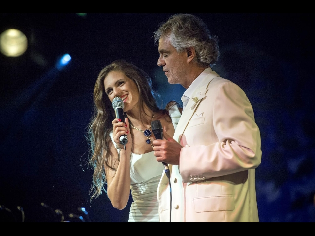 bocelli e leona lewis duetti per vip. Black Bedroom Furniture Sets. Home Design Ideas
