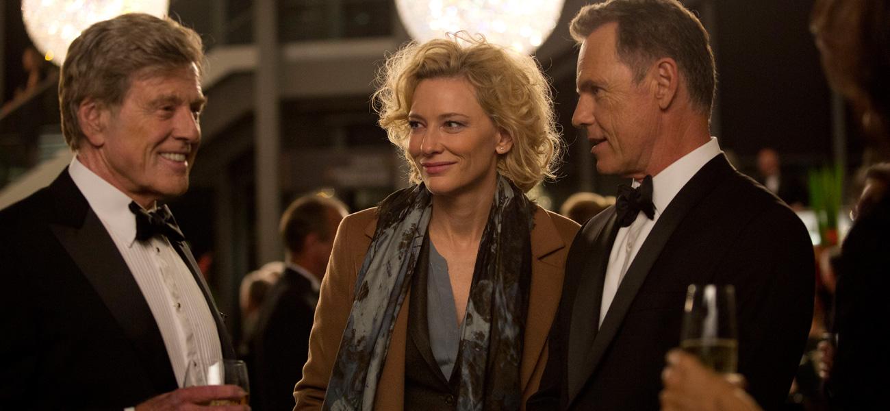 In foto Cate Blanchett (51 anni) Dall'articolo: Festa del Cinema di Roma, Truth è il film d'apertura.