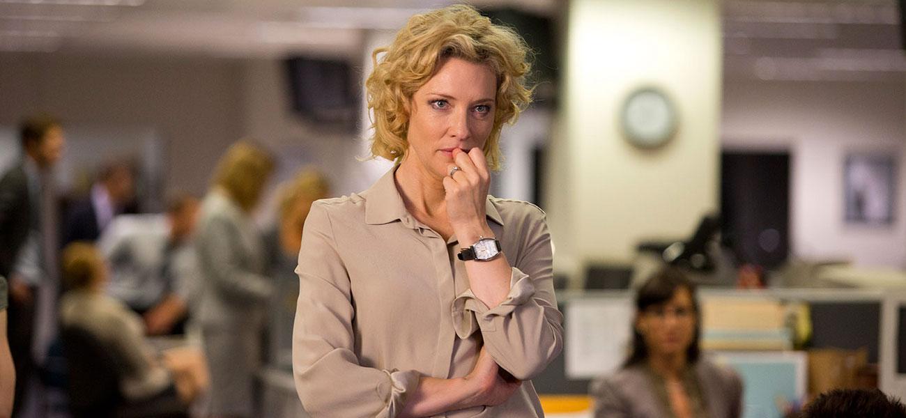 In foto Cate Blanchett (51 anni) Dall'articolo: Festa del Cinema di Roma 2015, ritorno al futuro.
