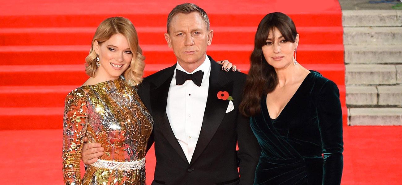 In foto Monica Bellucci (55 anni) Dall'articolo: Spectre - 007, la premiere 'reale' a Londra.