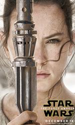 In foto Daisy Ridley (27 anni) Dall'articolo: Star Wars: Il risveglio della forza, i character poster.