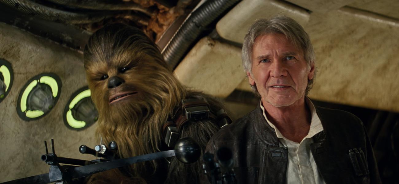In foto Harrison Ford (77 anni) Dall'articolo: Harrison Ford, un eroe tra le stelle. A Hollywood.