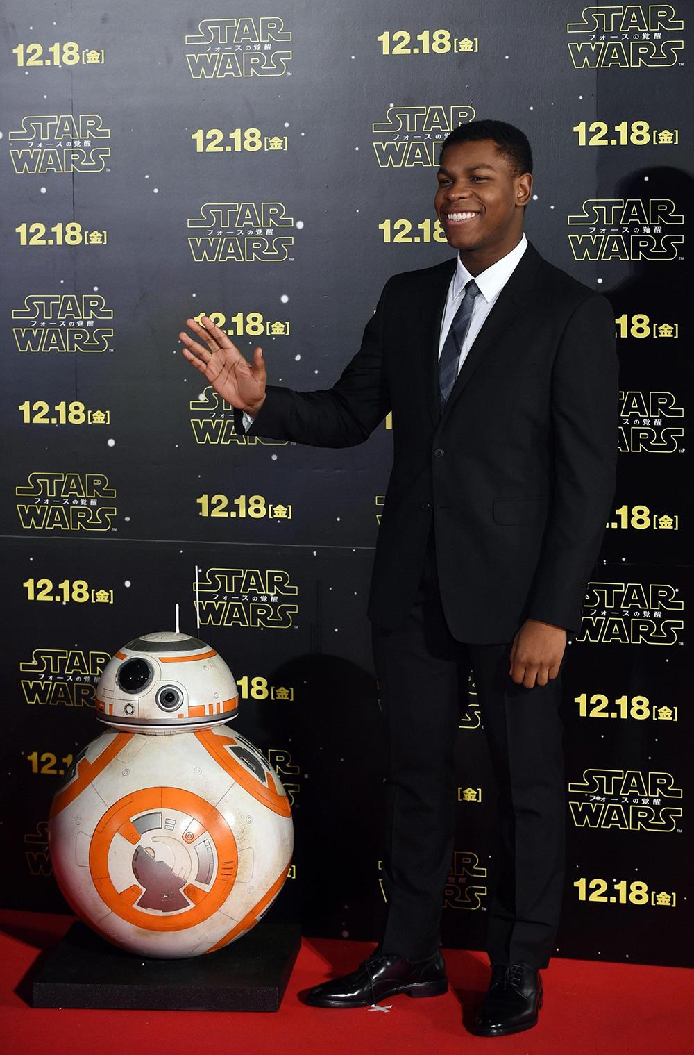 In foto John Boyega (27 anni) Dall'articolo: John Boyega, primo eroe nero di Star Wars.