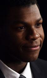 John Boyega, primo eroe nero di Star Wars - In Star Wars: Episodio VII John Boyega interpreta Finn, tra i migliori membri delle nuove truppe d'assalto del Primo Ordine prima di disertare e unirsi alla Resistenza.