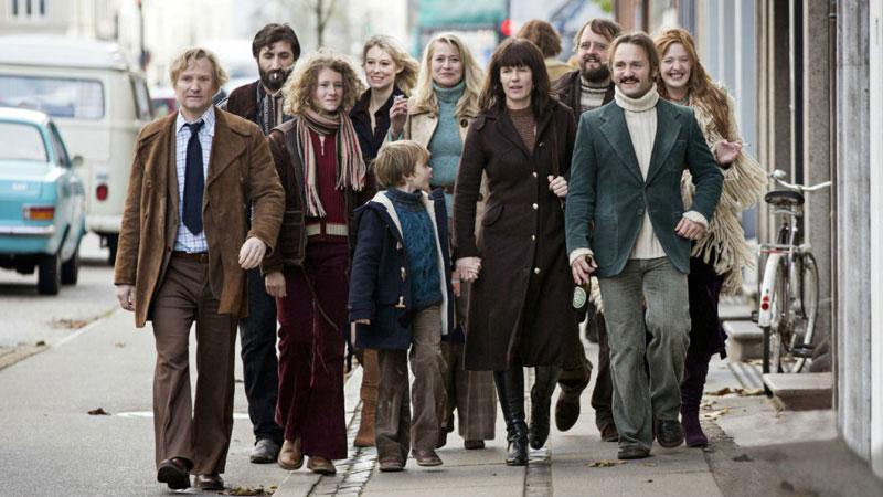 Una scena del film di Thomas Vinterberg The Commune. -  Dall'articolo: Berlinale 66: un bastimento carico di (belle) promesse.