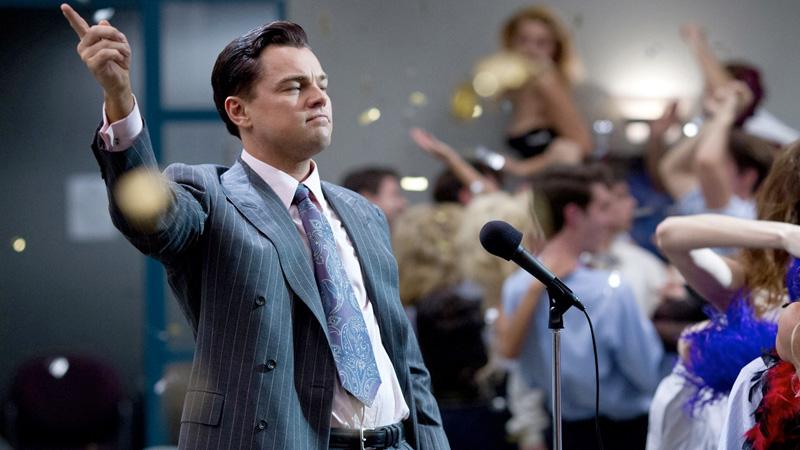 The Wolf of Wall Street (2013) di Martin Scorsese. -  Dall'articolo: Leonardo, il Magnifico.