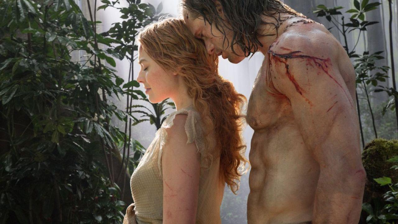 In foto Margot Robbie (31 anni) Dall'articolo: Re della giungla e del Box Office, The Legend of Tarzan è primo.