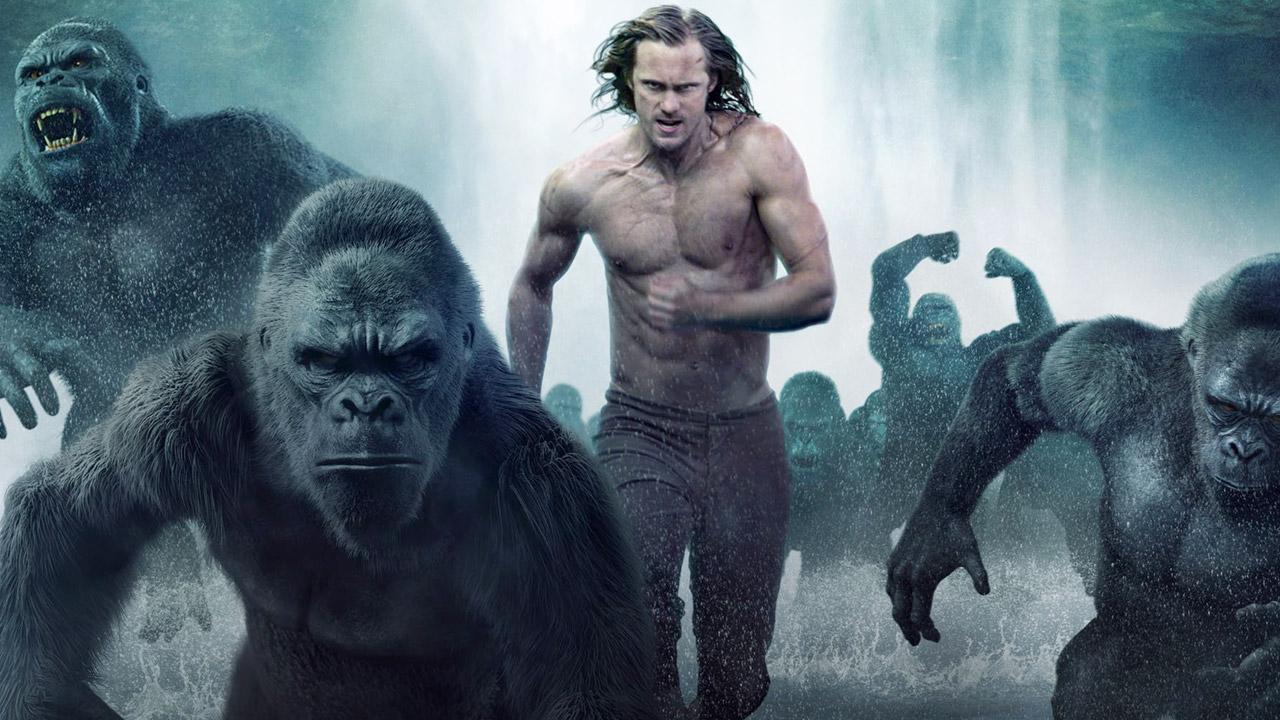 In foto Alexander Skarsgård (45 anni) Dall'articolo: Box Office, per Tarzan passo autunnale in una classifica estiva.