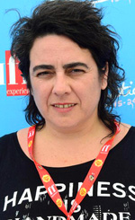Pepa San Martín: «Non stiamo dando ai nostri figli il diritto di vivere la diversità» - In foto la regista Pepa San Martín durante il Giffoni Film Festival.
