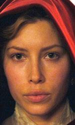 In foto Jessica Biel (37 anni) Dall'articolo: L'illusionista stasera su Iris.