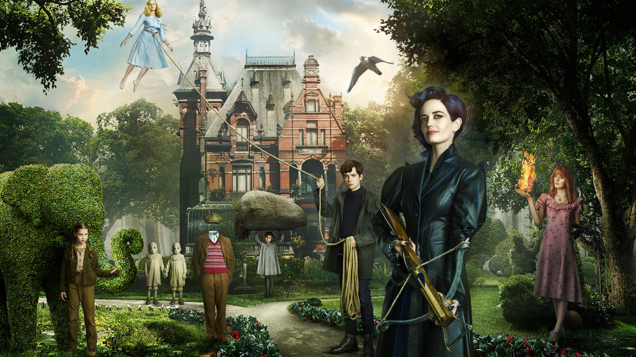 Miss Peregrine, Eva Green è la nuova maschera di Tim Burton