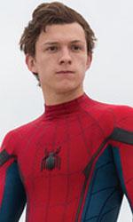 In foto Tom Holland (22 anni) Dall'articolo: Spider-Man: Homecoming, il primo trailer ufficiale.