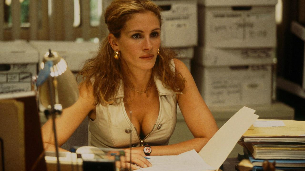 In foto Julia Roberts (53 anni) Dall'articolo: Erin Brockovich, il film stasera in tv su La7.