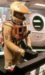 In foto una scena di 2001: Odissea nello spazio. -  Dall'articolo: Arrival tra Kubrick e Fincher: il cinema che esplora l'universo.