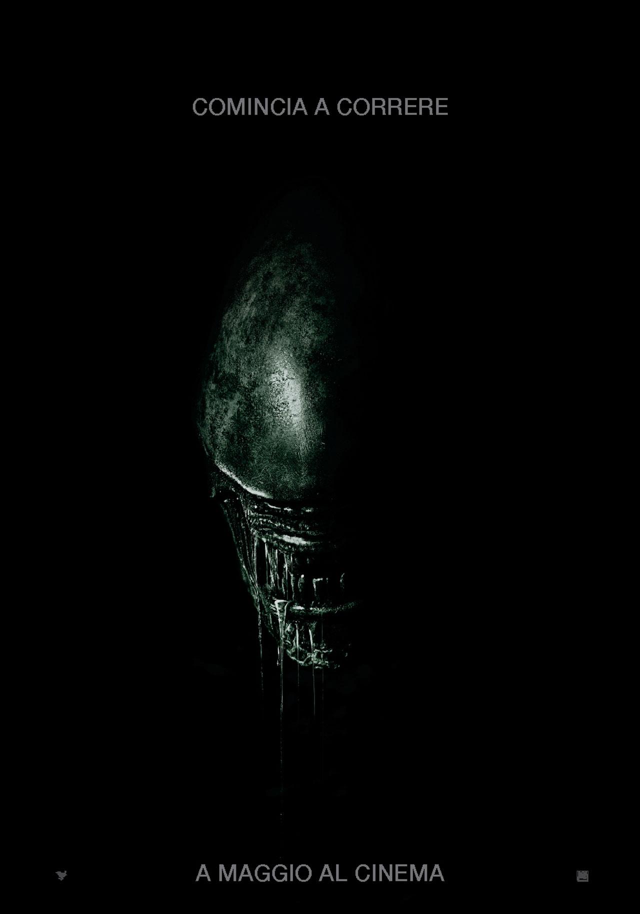 Alien: Covenant, il teaser poster italiano