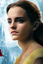 In foto Emma Watson (28 anni) Dall'articolo: La Bella e la Bestia, nuovo leader stagionale al box office.