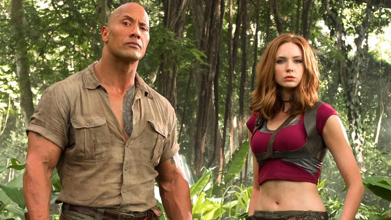 In foto Dwayne Johnson (48 anni) Dall'articolo: Jumanji: Benvenuti nella giungla, il primo trailer italiano.