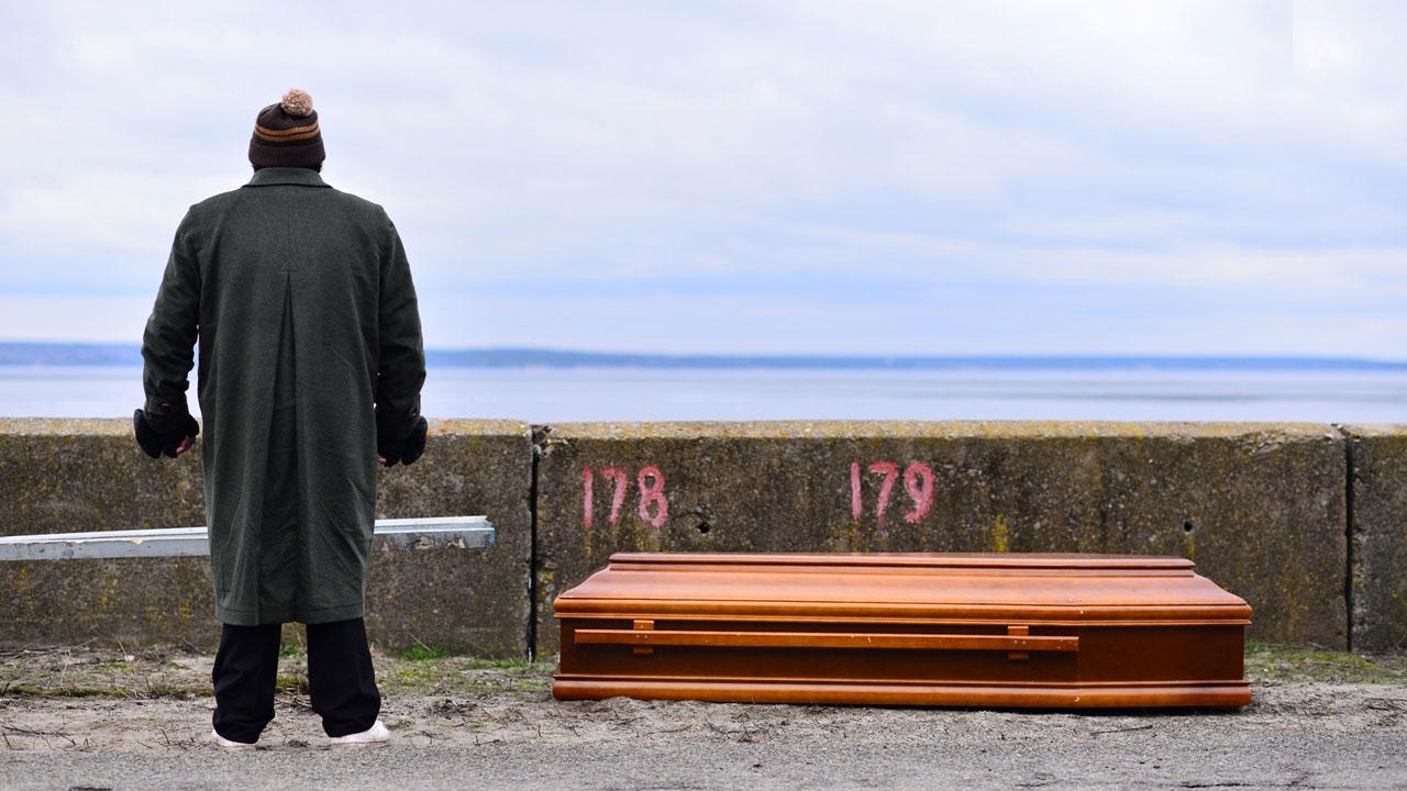 In foto Nicola Nocella (40 anni) Dall'articolo: Easy - Un viaggio facile facile, il trailer del film.