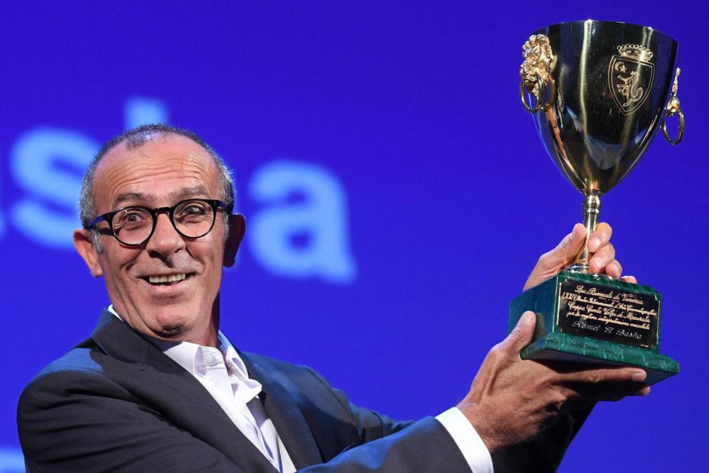 In foto Kamel El Basha Dall'articolo: Venezia 74, The Shape of Water di Guillermo Del Toro vince il Leone d'Oro.