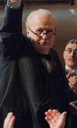 In foto Gary Oldman (63 anni) Dall'articolo: Winston Churchill: «Mi limiterò a 3 bottiglie di champagne a sera».