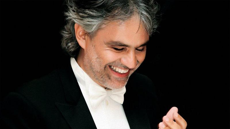 Andrea Bocelli: «il talento non è un merito personale»