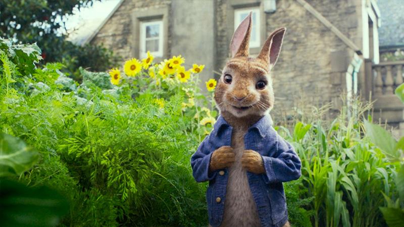 Peter Rabbit, il primo trailer ufficiale