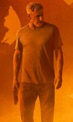 In foto Harrison Ford (77 anni) Dall'articolo: Blade Runner 2049, la domanda è «Chi sono io?».