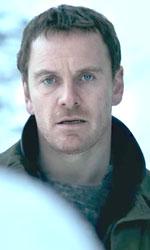 In foto Michael Fassbender (41 anni) Dall'articolo: L'uomo di neve e l'eccessivo ricorso al jumpscare.