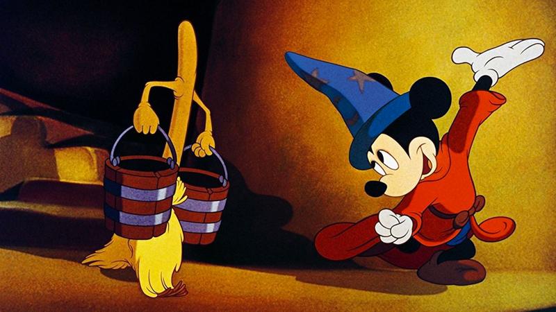 Fantasia, nel 1940 arriva al cinema il coraggioso film Disney