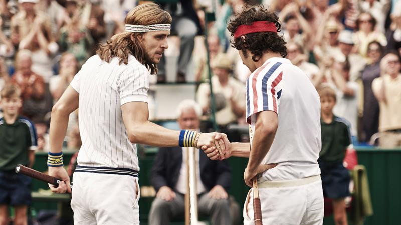 Borg McEnroe, lo sport è vita. O la vita è sport?