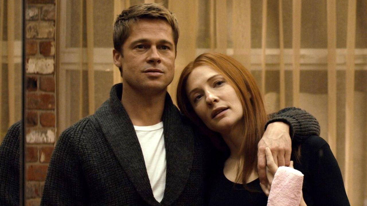In foto Brad Pitt (57 anni) Dall'articolo: Il curioso caso di Benjamin Button, il film stasera in tv su Iris.