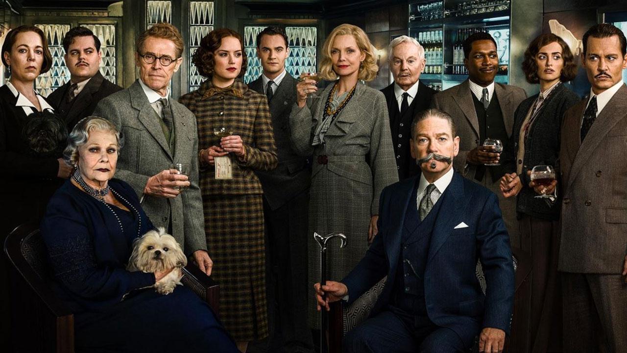 In foto Kenneth Branagh (61 anni) Dall'articolo: Agatha Christie, la scrittrice eternamente letta e vista... al cinema.