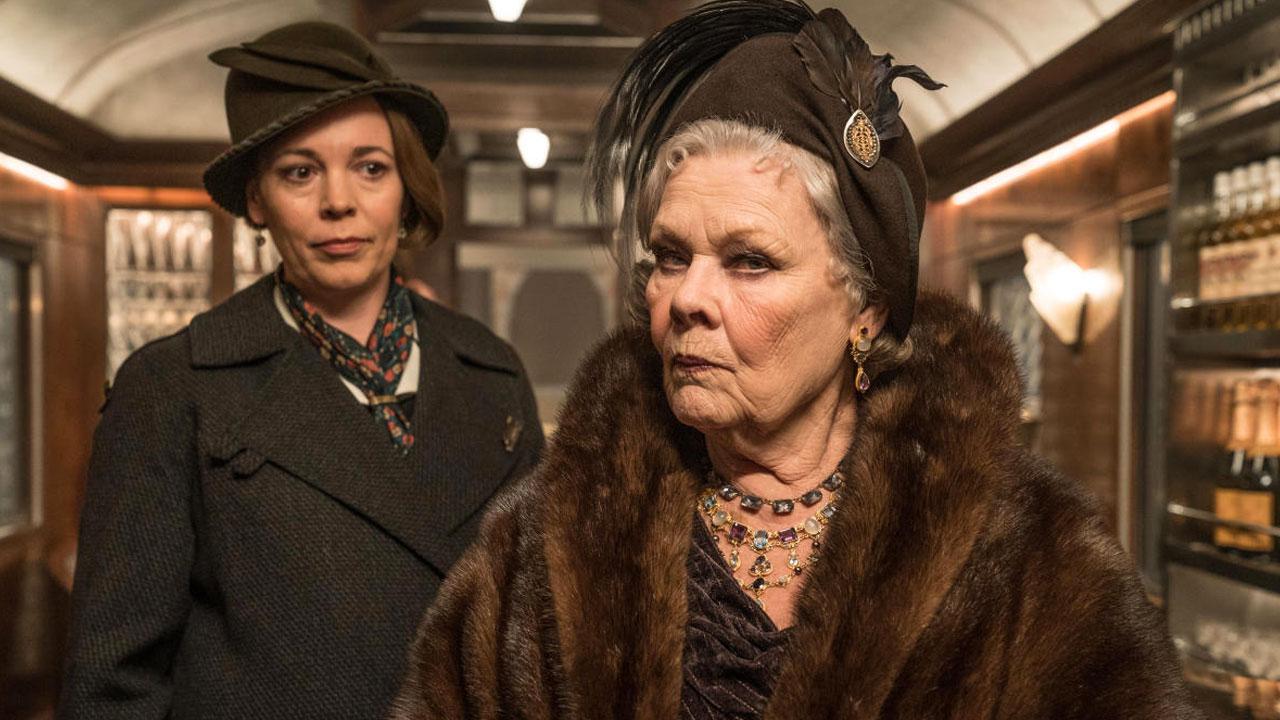 In foto Judi Dench (87 anni) Dall'articolo: Assassinio sull'Orient Express è il nuovo leader del box office.