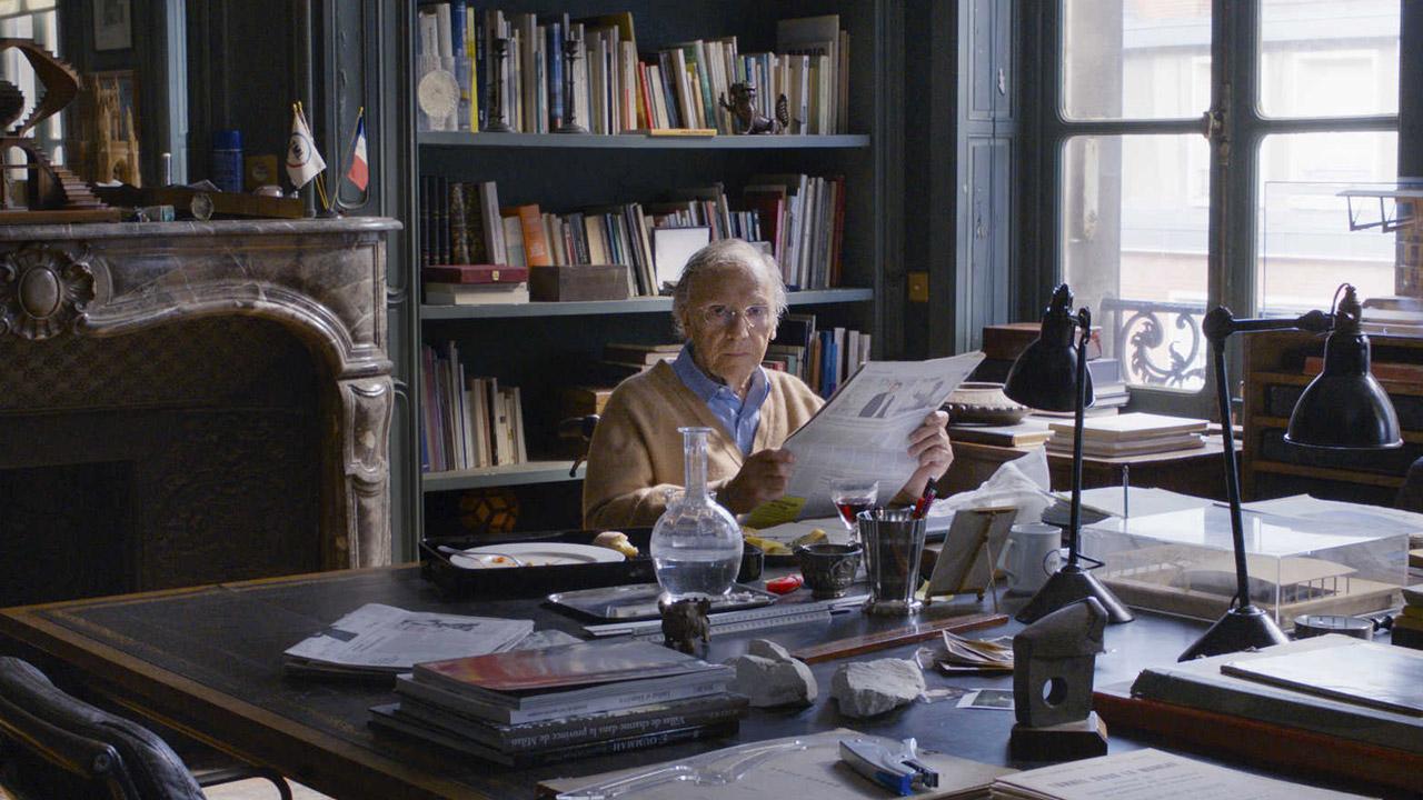In foto Jean-Louis Trintignant (91 anni) Dall'articolo: Happy End e Haneke: un significativo esempio di cinema europeo.