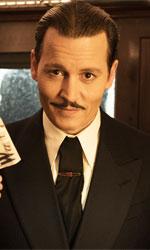 In foto Johnny Depp (57 anni) Dall'articolo: Assassinio sull'Orient Express: verso i 2 milioni nel weekend?.