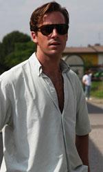 In foto Armie Hammer (32 anni) Dall'articolo: Chiamami col tuo nome, il trailer dell'atteso film di Luca Guadagnino.