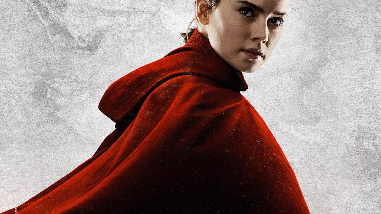 In foto Daisy Ridley (28 anni) Dall'articolo: Brusca frenata per Star Wars 8: dimezza gli incassi al box office.