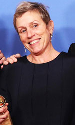 In foto Frances McDormand (62 anni) Dall'articolo: Golden Globe 2018, tutti i vincitori.