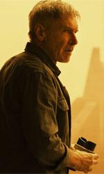 In foto Harrison Ford (77 anni) Dall'articolo: Blade Runner, 2049 vs 2019: elementi che tornano e cambiano.