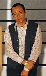 In foto Kevin Spacey (60 anni) Dall'articolo: I soliti sospetti, il film stasera in tv su Iris.