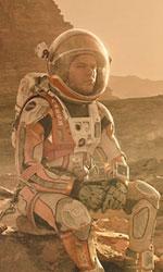 In foto Matt Damon (50 anni) Dall'articolo: Sopravvissuto: The Martian, stasera in tv su Canale 5.