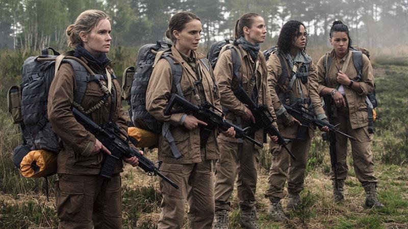 Una squadra 'all girls': le donne coraggiose di Annientamento
