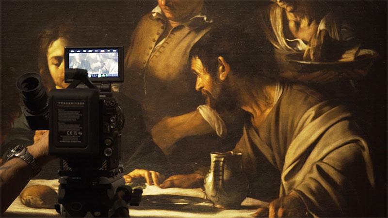 Caravaggio, la pittura vive di inganni e di illusioni